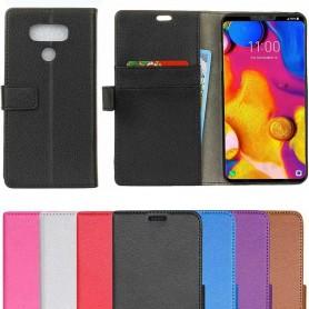 Mobilplånbok 2-kort LG V40 ThinQ fodral väska skydd caseonline