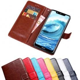 Mobilplånbok 3-kort Nokia 5.1 Plus mobilskal fodral väska skydd caseonline
