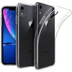 """Apple iPhone XR 6.1"""" Silikon skal Transparent mobilskal"""