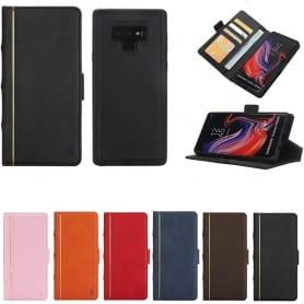 Retro bok lommebok 2i1 Samsung Galaxy Note 9 Magnetisk veske Mobiltelefon veske