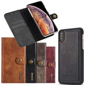 Mobil lommebok magnetisk DG-Ming Apple iPhone XS Max flyttbar skall mobil beskyttelse