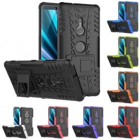 Stöttåligt skal med ställ Sony Xperia XZ3 mobilskal skydd silikonskal caseonline