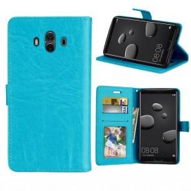 Mobil lommebok 3-kort Huawei Mate 10 - Blå