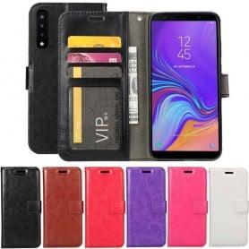 Mobilplånbok 3-kort Samsung Galaxy A7 2018 mobilskal fodral caseonline