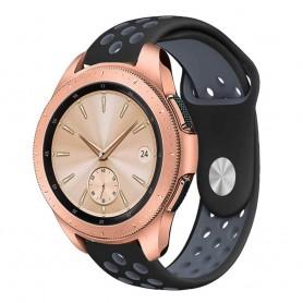 EBN Sport Armband Samsung Galaxy Watch 42mm Svart-Grå