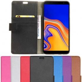 Mobilplånbok 2-kort Samsung Galaxy J4 Plus 2018 (SM-J415F) mobilskal