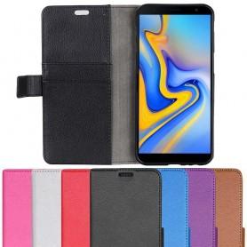 Mobilplånbok 2-kort Samsung Galaxy J6 Plus 2018 (SM-J610F) mobilskal skydd caseonline