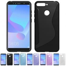 S Line silikon skal Huawei Y6 2018 mobilskal CaseOnline