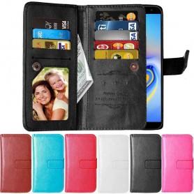 Dubbelflip Flexi 9-kort Samsung Galaxy J6 Plus (SM-J610F)