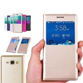 S View FlipCover Samsung Galaxy J1 mobildeksel