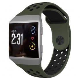 EBN Sport Armband Fitbit Ionic - Svart/grön