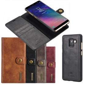 Mobil lommebok Magnetisk DG Ming Samsung Galaxy A6 2018 mobiltelefon veske