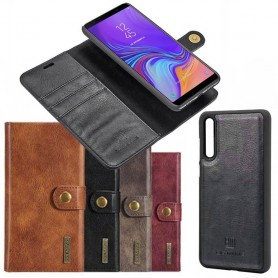 Mobilplånbok Magnetisk DG Ming Samsung Galaxy A7 2018 avtagbart mobilskal fodral