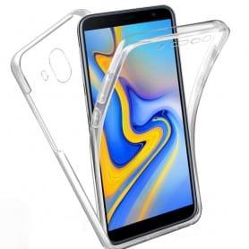 360 heltäckande silikon skal Samsung Galaxy J6 (SM-J600F)