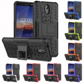 Stöttåligt skal med ställ Nokia 3.1 2018 (TA-1063) mobilskal caseonline