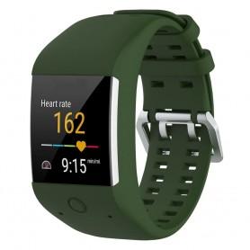 Sport Armband till Polar M600 - Mörkgrön