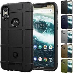 Robust Shield skall Motorola ONE (XT1941) mobil beskyttelses beskyttelse caseonline