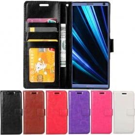 Mobil lommebok 3-kort Sony Xperia 10 (I4113) Mobiltelefon veske Caseonline