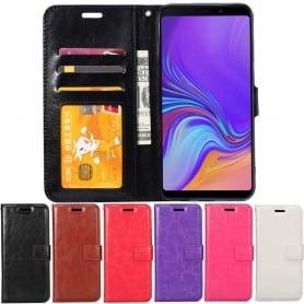 Mobilplånbok 3-kort Samsung Galaxy A9 2018 (SM-A920F) mobilskal