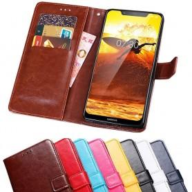 Mobil lommebok 3-kort Nokia 8.1 2018 (TA-1128)
