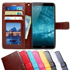Mobilplånbok 3-kort Sony Xperia 1 mobilskal fodral väska caseonline