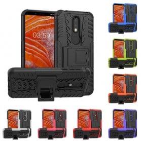 Stöttåligt mobilskal med ställ Nokia 3.1 Plus (TA-1118) caseonline