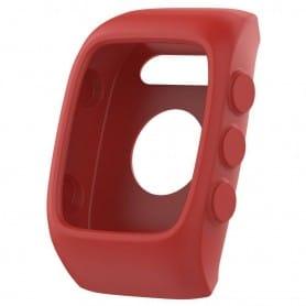 Silikonskall Polar M400 / M430HR - Rød