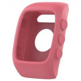 Silikon skall Polar M400 / M430HR - Lys rosa
