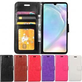 Mobilplånbok 3-kort Huawei P30 mobilskal fodral väska caseonline