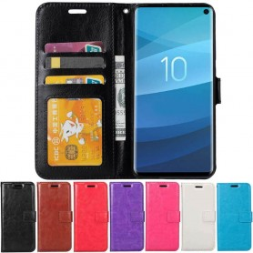 Mobil lommebok 3-kort Samsung Galaxy S10 (SM-G973F) Deksel Caseonline
