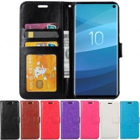 Mobilplånbok 3-kort Samsung Galaxy S10 (SM-G973F) mobilskal fodral caseonline