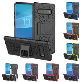 Stöttåligt skal med ställ Samsung Galaxy S10 (SM-G973F) mobilskal skydd caseonline