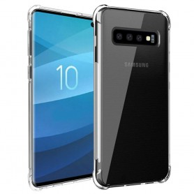 Shockproof Samsung Galaxy S10 (SM-G973F) mobiltelefon etui Gjennomsiktig Caseonline