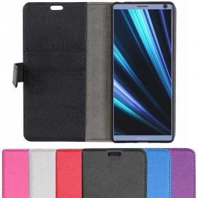 Mobil lommebok 2-kort Sony Xperia 10 (i4113) beskyttelsesdeksel for mobil