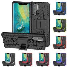 Støtsikker skall med stativ Huawei P30 Pro mobiltelefon deksel caseonline