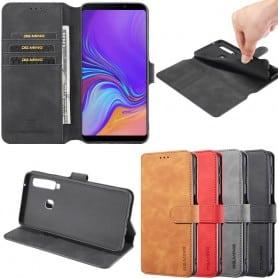 DG-Ming mobilplånbok 3-kort Samsung Galaxy A9 2018 (SM-A920F)
