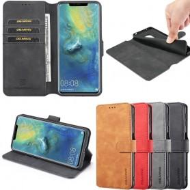 DG-Ming mobilplånbok 3-kort Huawei Mate 20 Pro (LYA-L29) mobilskal caseonline fodral