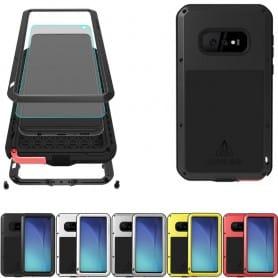 LOVE MEI Powerful Samsung Galaxy S10E (SM-G970F) lifeproof metallskal mobilskal caseonline