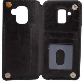 Mobile Shell Business 3-kort Samsung Galaxy A8 2018 (SM-A530F) trenger beskyttelse av saken