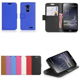 Mobil lommebok 2-kort LG G Flex mobil deksel