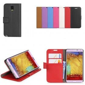 Samsung Galaxy Note 3 Neo Mobile Wallet 2-kort mobildeksel