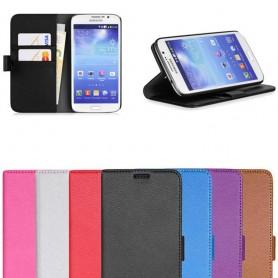 Samsung Galaxy Grand 2 mobilplånbok 2-kort fodral skydd