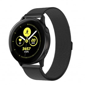 Milanese RSF stålarmbånd Samsung Galaxy Watch Active - Svart
