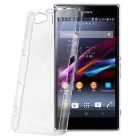 Sony Xperia Z1 Compact silikoni läpinäkyvä