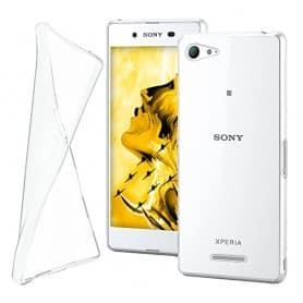 Sony Xperia E3 silikoni läpinäkyvä