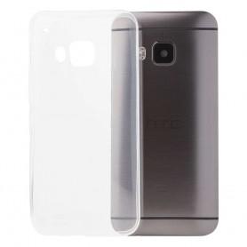 HTC One M9 Silikon Transparent