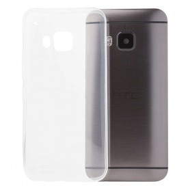 HTC One M9 silikon gjennomsiktig