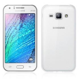 Galaxy J1 silikon skal transparent