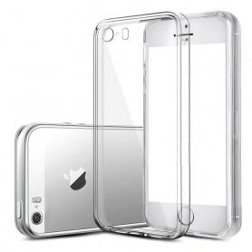 iPhone 4, 4S silikon skal transparent