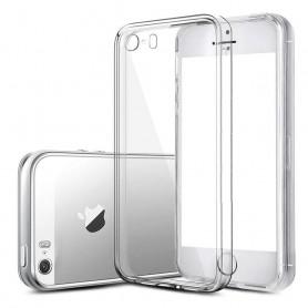 Apple iPhone 5, 5S silikon skal transparent